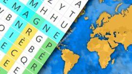 mots mêlés géographie