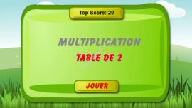 Jeu De Math Table De Multiplication De 2 270x152